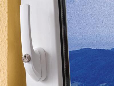 ABUS FG300 raamkruk met sleutel
