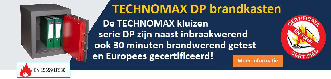 TECHNOMAX DP kluizen brandkasten